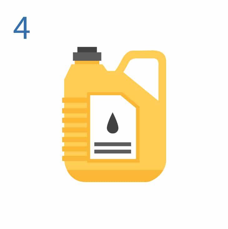 Cambio de aceite y filtro motor