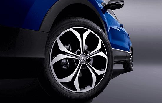 Monitor de presión de neumáticos.