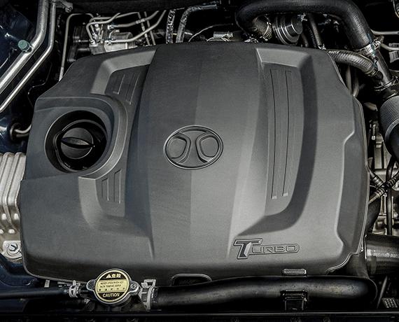 Motor 1.5 turbo de 148 HP